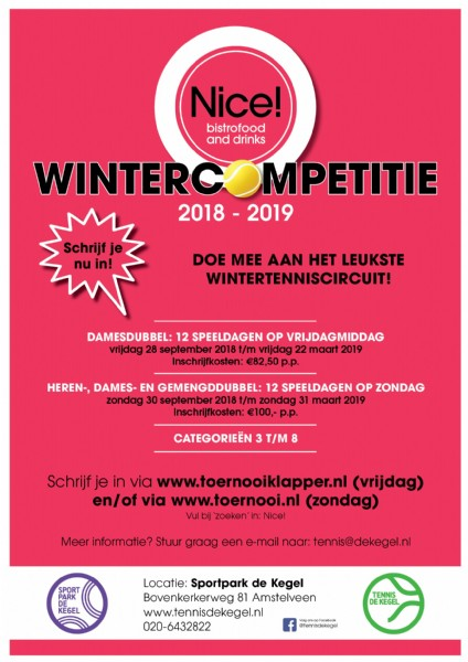 Nice! Wintercompetitie 2018-2019